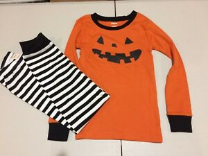 NWT Gymboree Halloween Pumpkin Jack O Lantern Gymmies pajama set many sizes