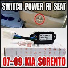 KIA 2007-2009 Sorento 8way Front Left  Seat Power switch  Genuine 88199-3E420