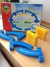 TOMY Tomica World 7497 Road & Rail System