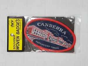 Canberra Parliament House, Collectable Souvenir Sew on Patch / Badge (NOS)
