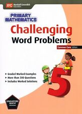 Singapore Math Primary Math Challenging Word Problems 5-FREE Expedited UPGD W$45