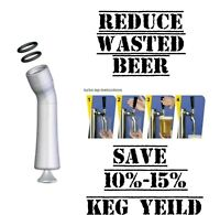 Turbo Tap Draft Beer Pourer Quick Pour Reduce Waste M9