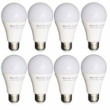 8 Pack LED Light Bulbs Dimmable 60W Equiv Soft White A19 Energy Efficient