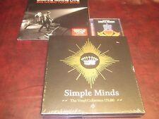 SIMPLE MINDS 180 GRAM 7 LP BOX SET + BIG MUSIC LIVE COLORED VINYL LPS +HITS CDS