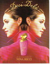 Publicité Advertising  0817  1994  Nina Ricci parfum Deci Delà W.Laxton