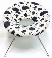 Rare chaise fauteuil circle chair 1970 moderne vintage armchair chairs