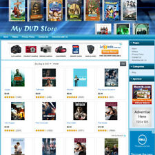 Dvd Store Easy To Operate Business Website Work At Home Great Online Business