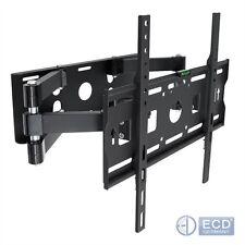 Supporto staffa parete muro TV LCD plasma 32'' A 55' arresto sicuro estensibile