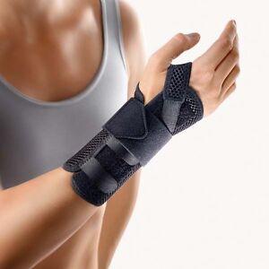 BORT ManuStabil kurz, Handgelenkbandage, Bandage, Art. 112730, schwarz Stück
