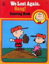 Peanuts coloring book RARE UNUSED