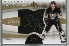 11/12 Upper Deck Ultimate Collection Joe Vitale Debut Threads Auto RC #'ed 23/50