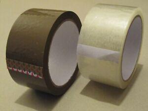 Paketklebeband 50x66 Klebeband Paketband Packband transparent 50mm x 66m leise
