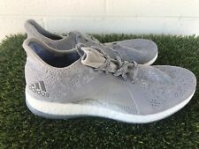 ae810c7e2 Women s Adidas Pure Boost X Element Knit Gray Running Shoes Size 9.5
