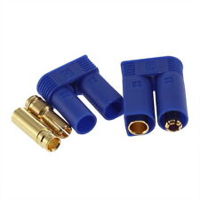 5MM 1 Pair EC5 Bullet Connectors Plugs Adapters Male / Female Losi Style