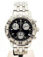 Orologio Cronografo TISSOT PRS200 T362/462 Quarzo Vetro Zaffiro Acciaio Uomo ...