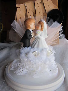 new Hortense B. Hewitt Western Bride Groom Cake Topper Country Flair Collection