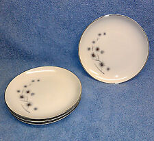 "Creative Fine China 1014 Japan Set of Four 7 1/2"" Dessert Plates, Mint!"
