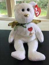 Ty Beanie Baby Gift Love White Bear Angel Wings Retired 2004 Christmas with Tags