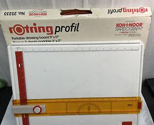 KOH-I-NOOR Rapidograph Rotring Profil Portable Drawing Board No 25233 W Germany