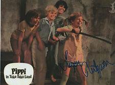 "Inger Nilsson ""Pipi Langstrumpf"" Autogramm signed 20x28 cm Bild"