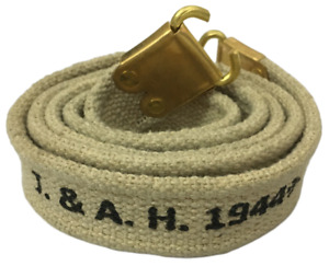 British WWII Army Lee Enfield SMLE Canvas Sling Light Khaki Color