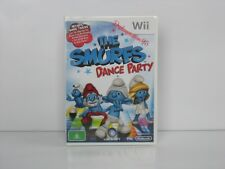 THE SMURFS DANCE PARTY NINTENDO WII Brand New & Sealed ,100% PAL( AUS )