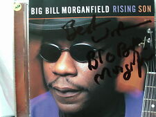 BIG BILL MORGANFIELD RISING SUN CD SIGNED MUDDY WATERS BLUE BAND AUTOGRAPHED