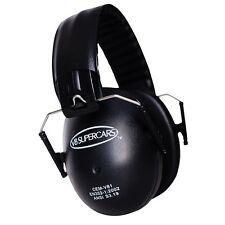 V8 Supercars Kids Earmuffs - Light Weight Protection for Little Ears - Ear Muffs