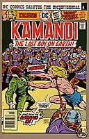 KAMANDI, LAST BOY ON EARTH #43, DC Comics 1976, VF