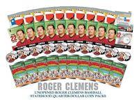 Roger Clemens Astros Houston Texas U. S. Statehood Cuarto !Signatured! Limited