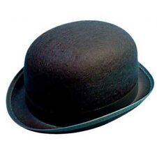 Black Felt Bowler Hat, English Gentleman, City Gents, Movies, Tv, Props 11411