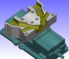 CondaCam LT , 2D 3D CAD CAM Software ,HSC-Fräsen, CNC Software ,CNC-Simulation