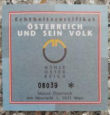 1 x Österreich 500 Schilling Silber 1996 Die Städte Echtheitszertifikat