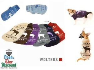 Hundepullover Wolters Strick Elch normal und Mops & Co. Hunde Bekleidung Mantel