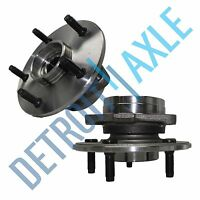Front Wheel Bearing & Hub Assembly for 2000 2001 Dodge Ram 1500 4x4 4WD -No ABS