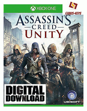 Assassins Creed Unity Xbox ONE Key Game Download Code Global [Blitzversand]