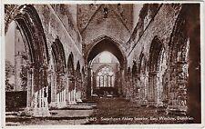 East Window, Sweetheart Abbey Interior, DUMFRIES, Dumfriesshire RP