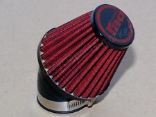 48mm Intake Air Filter for Racing Scooter Moped ATV GO KART GY6 125 150CC RED