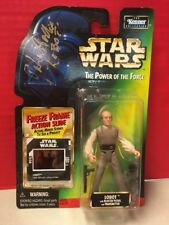 Star Wars PotF Autographed John Hollis Lobot Figure Freeze Frame