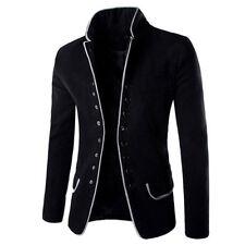 Herren Freizeit Business Anzuge Blazer Sakko Jacke Anzug Jacket Mantel Slim Neu