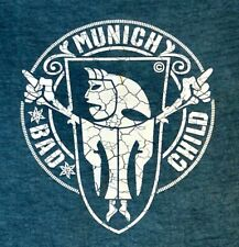 T-Shirt München BAD CHILD MUNICH Bayern Bavaria Größe XL kultiges Jersey Shirt