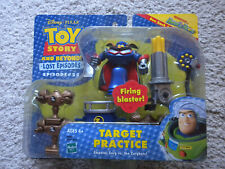 Disney Pixar TOY STORY And Beyond ZURG Figure TARGET PRACTICE Fire Blaster 2001