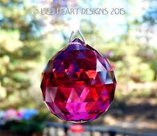 Swarovski Special Sale 40mm Bordeaux Red Ball Feng Shui 8558 Lilli Heart Designs