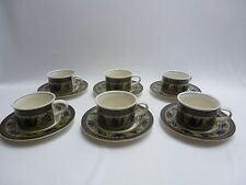 Mikasa Intaglio Arabella Set of 6 Cups and Saucers