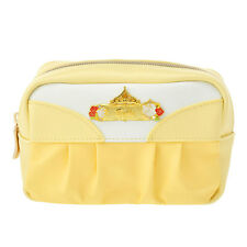 New Disney Store Japan Beauty and the Beast Belle Makeup Cosmetic Pouch Bag