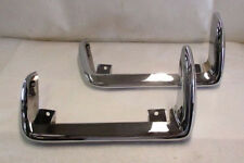 1968 - 1973 Corvette Rear Bumpers, Pair, New, Driver Quality, Replacements