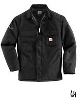 Carhartt Men's Arctic Quilt Lined Yukon Coat C55 Black,XX-Large Tall ~ Z64