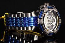25766 Invicta 52mm Bolt Two Tone Gunmetal Bracelet Chronograph SS Bracelet Watch