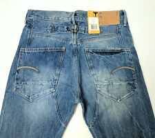 G Star Blades Tapered Mens Jeans Blue Light Aged W30 L34 New With Tags RRP£120