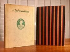Pierre Louys, Aphrodite, Privately Printed 1913, NF in DJ